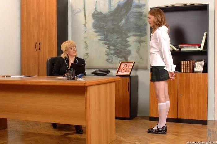 Lolly Cat & Madam - Euro Girls on Girls