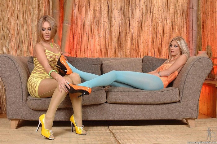 Katy & Zuzana Z. - Euro Girls on Girls