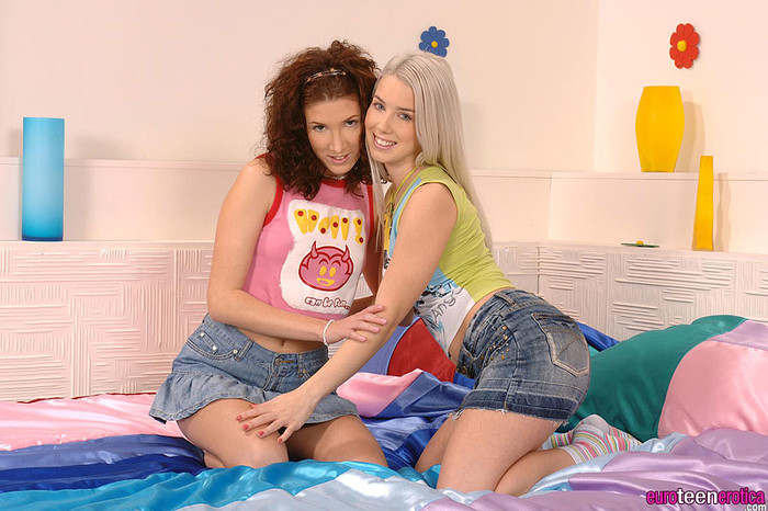 Lily Cross & Nesty - Euro Teen Erotica