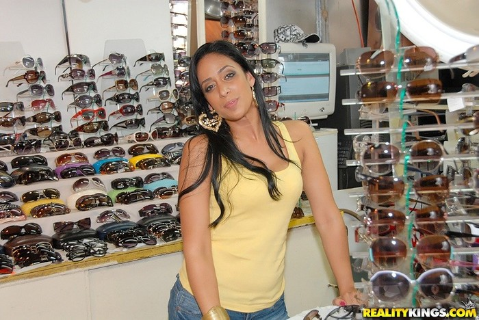 Nadia - Hottie In Briefs - 8th Street Latinas