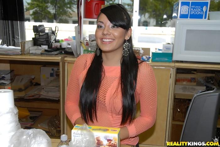 Sasha - Sexy Streaker - 8th Street Latinas