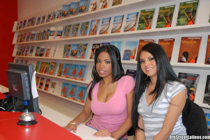Havana & Jenae - Travel Twat - 8th Street Latinas