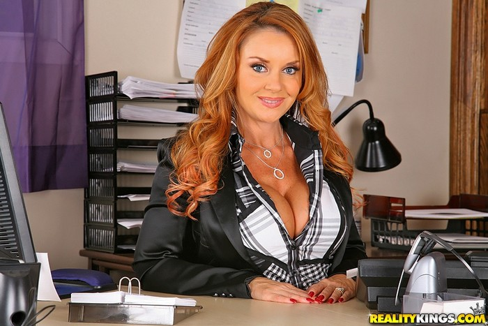 Janet Mason - Shes The Boss - Big Tits Boss