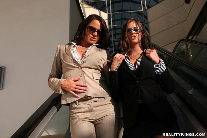 Savannah & Rachel - Corporate Fluffer - Big Tits Boss
