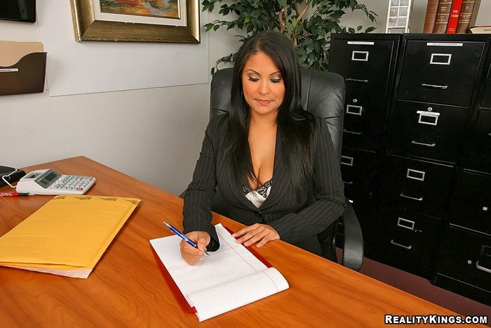Sophia Lomeli - Business Boner - Big Tits Boss