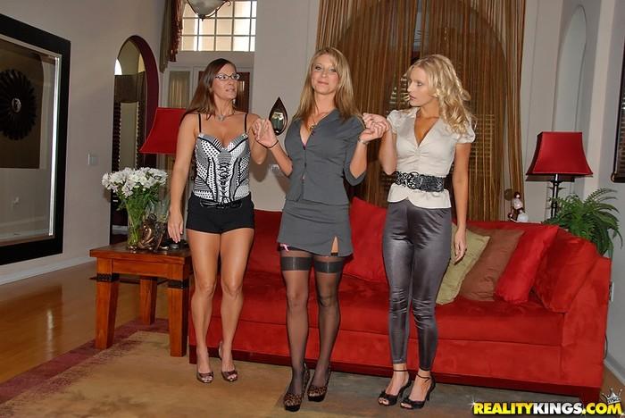 Sarah Jackson, Brianna Ray & Kristen Cameron