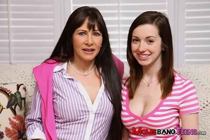 Victoria Volt And Alexandra Silk - Moms Bang Teens
