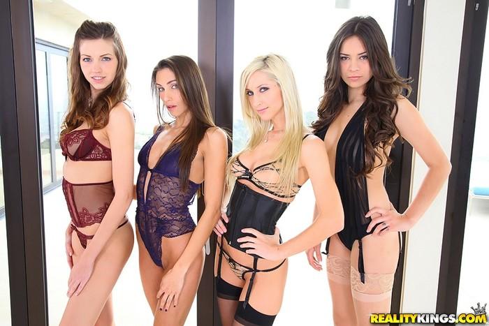 Celeste Star, Eufrat, Nina James, Sammie Rhodes