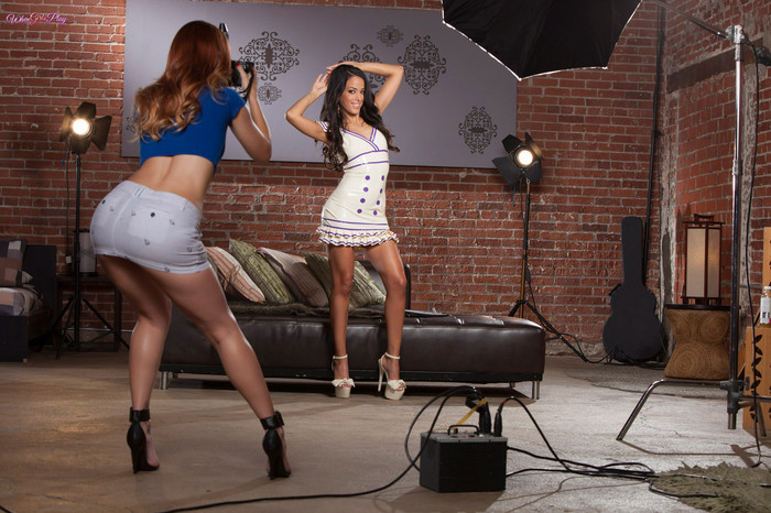 Karlie Montana And Layla Sin Get Naughty After Their Shoot